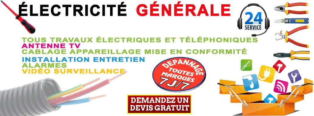 Electricien Marcoussis, 91 - Maxime particulier cherche electricien Marcoussis 01.69.49.66.47